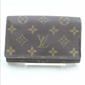 Louis Vuitton Wallet Porte Monnaie Tresor Monogram